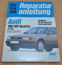 AUDI 100 C4 Quattro ab 1991 2,0l 4Zyl 2,3l 5Zyl Motor Reparaturanleitung B1113