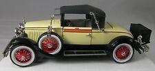 1927 CADILLAC 314 ROADSTER 1:32 Rumble Seat Motor Mint Die Cast Car NIB + COA