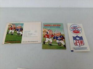 1969 Campbell Soup Grid Kid Official Training Manual Club Membership Mail-Away 2
