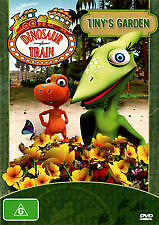 DINOSAUR TRAIN - TINY'S GARDEN - BRAND NEW & SEALED DVD (REGION 4) JIM HENSON