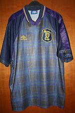 Maglia Shirt Maillot Trikot Camiseta Scozia Scotland Umbro Calcio Euro 96 WC 90