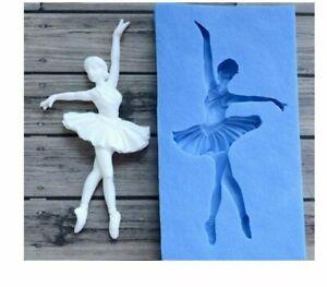 Dancer Sugarcraft Silicone Mould Gumpaste Fondant Mold Cake Decorating Tools