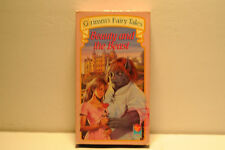 Grimm's Fairy Tales - Beauty and the Beast RARE Video Treasures 1990 VHS cartoon