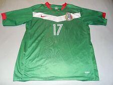 Nike Francisco Fonseca #17 Federacion Mexicana De Futbol Soccer Jersey Adult XL