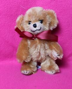 "Merrythought Miniature Mohair Cheeky Bear 5"" Limited edition"