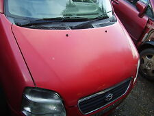 Suzuki wagon R+ bonnet in red, 2000 to 2006, 57300-83E04 Body Parts