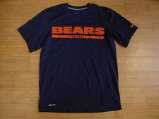 c128bf324 NFL NIKE ONFIELD Apparel Chicago Bears football Men s Dri-fit t shirt SS  SMALL