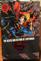Superman The Death and Return of Superman Omnibus HC 1st Edition NM 2007
