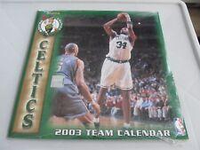 2003 BOSTON CELTICS Team Calendar Paul Pierce, Antoine Walker New Sealed