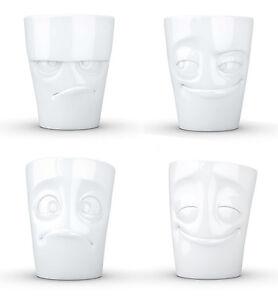 FIFTYEIGHT Lustige Gesichter Tassen mit Henkel NEU/OVP Henkeltassen Porzellan 58