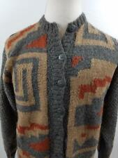 Graham & Gunn Ltd m Cardigan Alpaca Sweater Southwestern Gray Mens Womens Adult