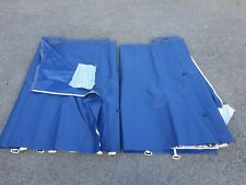 New pair of blue underbed Skirts for 2006 to 2007 Conway Cruiser / Crusader