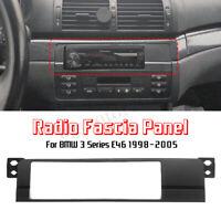Adaptateur Cadre Façade Stéréo Autoradio pour BMW 3 Series E46 1DIN 1998-2005
