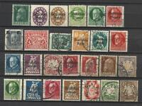 GERMANY BAYERN BAVARIA STAMP COLLECTION PACKET of 25 DIFFERENT Stamps Used