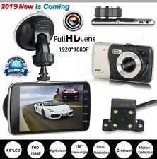 Dual Lens HD 1080P Car DVR Vehicle Dash Cam Video Recorder Camera Night Vision