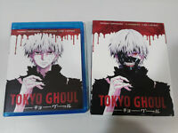 Tokyo Ghoul Stagione 1 - 2 X Blu-Ray + Extra 12 Episodi Manica Senza Censura Am