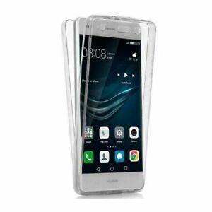 Funda doble 360º Para Huawei P10 Lite Delantera y trasera Gel Transparente