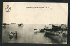 C1910 View of Boats in the Harbour, Djibouti