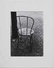 Ilse BING: Champs Elysee, Paris, 1931 / Silver Print / Ptd 1987 / SIGNED!