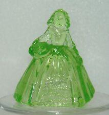 Boyd Glass Elizabeth Doll Limelight Vaseline 2011  (glows under black light)
