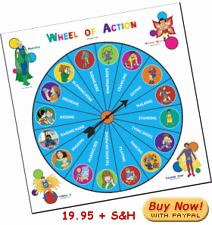 Speech Therapy Language Action Verb Game for Kids