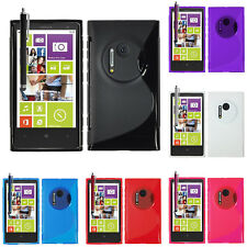 Flexible Shell Silicone Gel Pattern S-LINE For Nokia Lumia 1020 / EOS /909/