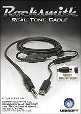 NEW Official Real Tone Cable for PS4 XBox One X1 PS3 XBOX 360 PC Rocksmith 2016