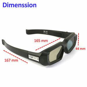 Aktive Shutter Blue-tooth 3D Brille für 3LCD Epson Beamer Samsung 3D TV USB DE
