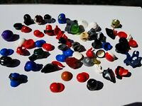 53 x Minifigure hats and headgear genuine Lego Parts job lot bundle figure