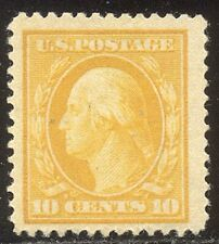 U.S. #381 Mint Vf Beauty - 10c Yellow, Slw ($85)