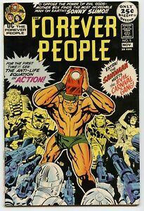 FOREVER PEOPLE #5 Vol.1 - D.C. - 1971 - Jack Kirby!  8.0 to 8.5  VF+