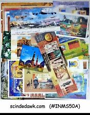 COLLECTION OF INDIA MINIATURE SHEETS - 50nos ALL DIFFERENT MINT NH