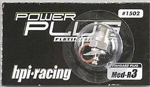 HPI Racing 1502 R3 Medium Glow Plug Savage Nitro Firestorm Trophy Truggy /Buggy