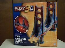 The Golden Gate Bridge 3D puzzle by PUZZ3D, MIB