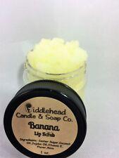 Banana Lip Scrub| Edible Sugar Lip Scrub| Lip Polish
