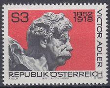 Österreich Austria 1978 ** Mi.1589 Victor Adler Politiker Politician Büste