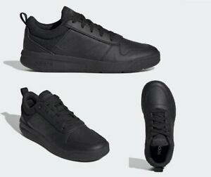 ADIDAS TENSAUR TRAINERS BOYS JUNIOR UNISEX BLACK EF1086 Size UK3, 4, 5, 5.5