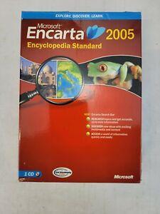 Encarta Encyclopedia Standard 2005 by Microsoft, New