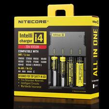 NITECORE I4 CARICABATTERIE 18650 26650 Lithium 3.7V 3.0V 1.2V AAA AA