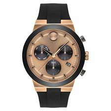 Movado Bold Fusion Chronograph Quartz Bronze Dial Men's Watch 3600711