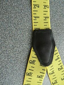 Measure up - great funky and chunky braces - Showing a tape measurement