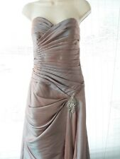 Couture Collections Sable Gown Sweetheart Style #A2014 Size 6 Prom Formal Weddin