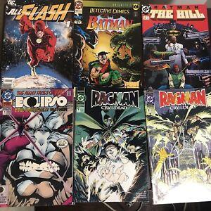 DC Comic Books Lot - 90s - Modern Age - Random Lot Of 6