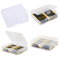 AA Battery Storage Case/Holder/Organizer/Box Clear Plastic For 24 AA Batterie ST