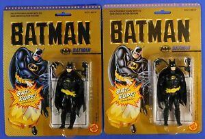 BATMAN DC COMICS SUPER HEROES TOY BIZ 1989 BOTH JAW VARIANTS SET