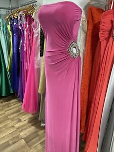 Pink Ball Gown / Prom Dress Size 8