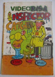 VIDEORISA comic 80s parody INSPECTOR GADGET cyborg BIONIC TV cartoon Penny POP