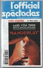 L'OFFICIEL DES SPECTACLES   - PARIS - N.3072   NOVEMBRE 2005 - LINGUA FRANCESE