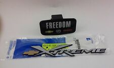 1999-2003 CHEVROLET S10 XTREME DOOR & TAILGATE NAMEPLATE EMBLEM GM OEM NEW