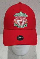 Liverpool FC Official Red Crest Baseball Cap - Adults
